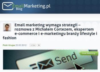 Email marketing wymaga strategii